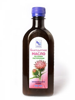 масло из семян расторопши