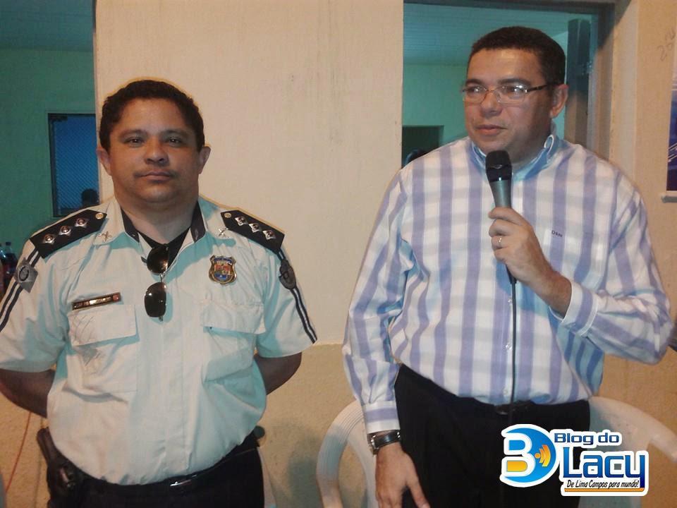 LIMA CAMPOS RECEBE POLICIAMENTO