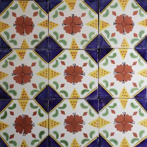 36 Mexican tiles