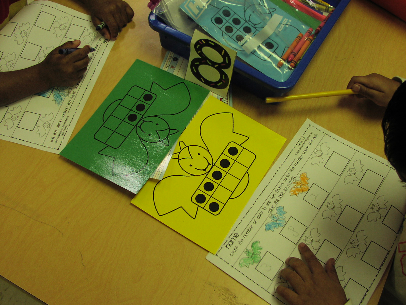 Keen On Kindergarten: October Math Work Stations