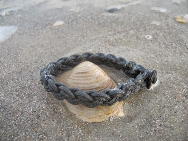 Gray Surfer bracelet by: www.stokedbracelets.com