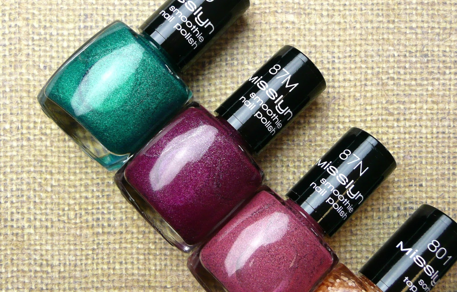 Thoughts: Misslyn Nail Polish Summer Collection*