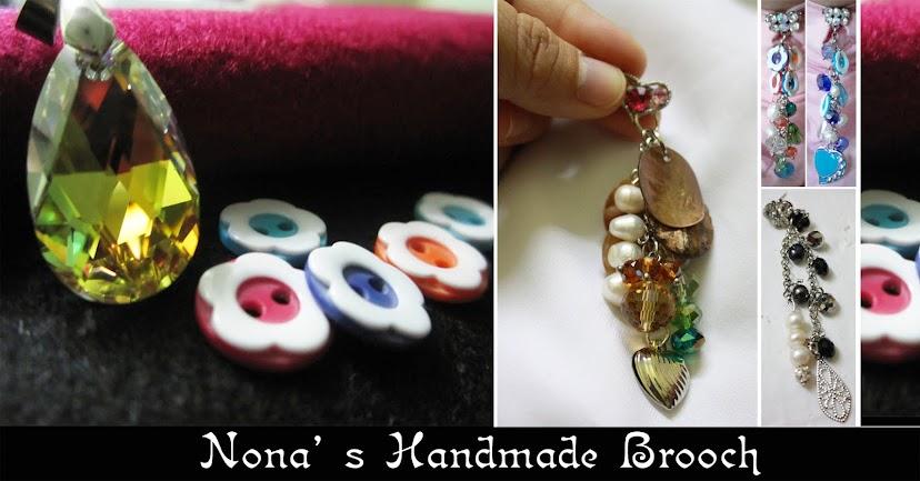 Nona's Handmade Brooch