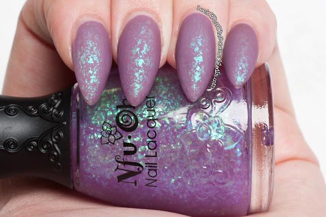 Illamasqua Velocity Nfu Oh #50 matte nail polish swatch