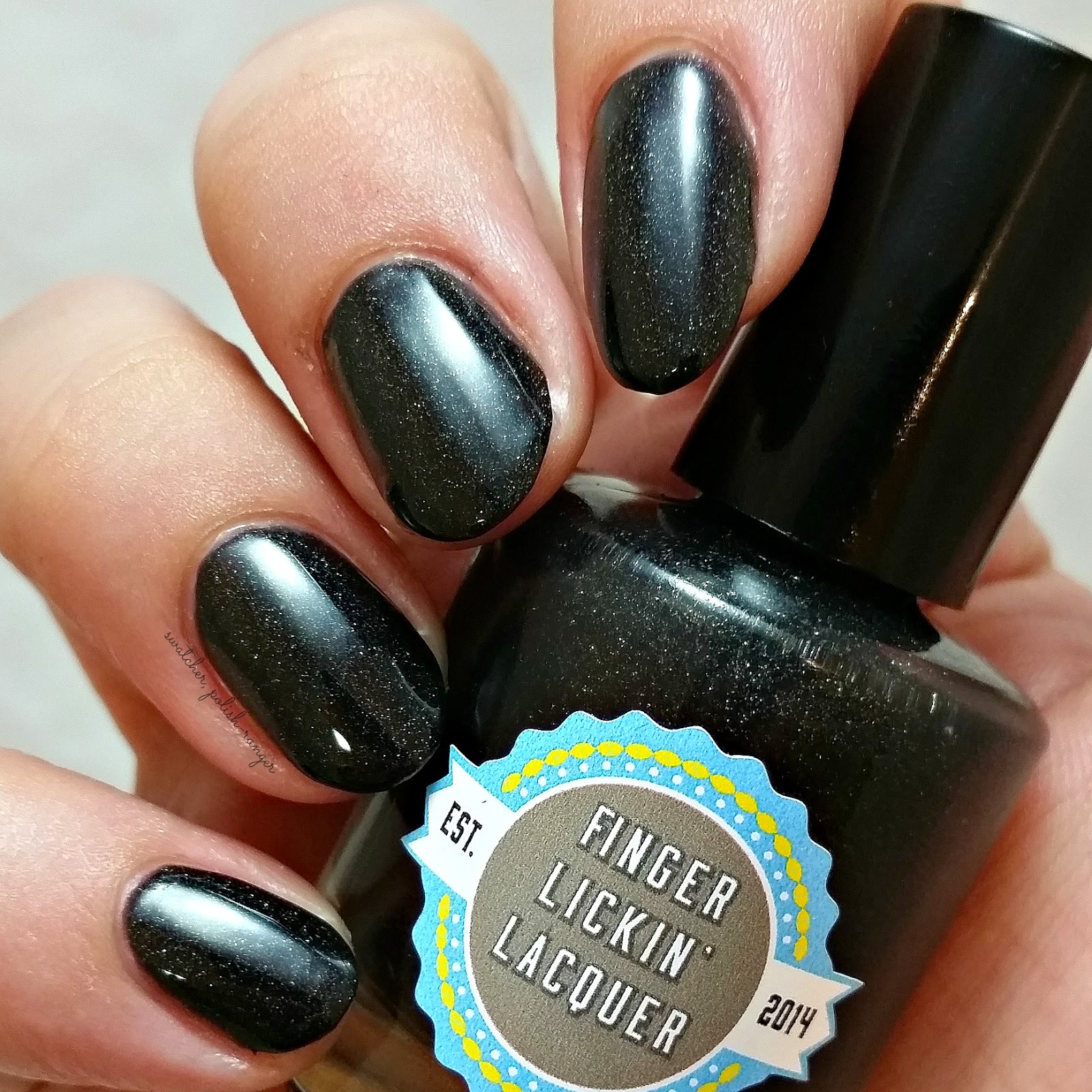 swatcher, polish-ranger | Finger Lickin Lacquer Bonfire Night swatch