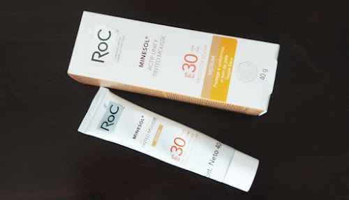 ROC MINESOL ACTIF UNIFY TINTED MOUSSE FPS 30 PROTETOR SOLAR