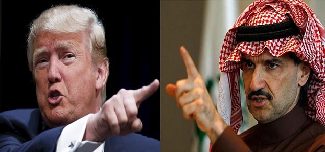 كلام لا يصدق من الوليد بن طلال للأمريكي ترامب بعد إهانته للمسلمين