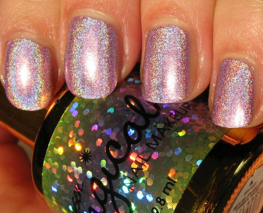 tbt Sally Hansen\'s Magical Nail Makeup in Fairy Dust Pink | Body & Soul