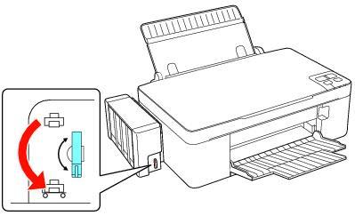 how to remove air hoses epson l200 210 en rellenado