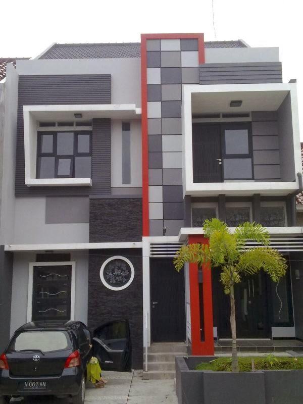 minimalist house design type 54 5 & 10 Terbaik Desain Rumah Minimalis 2 Lantai Terbaru 2017