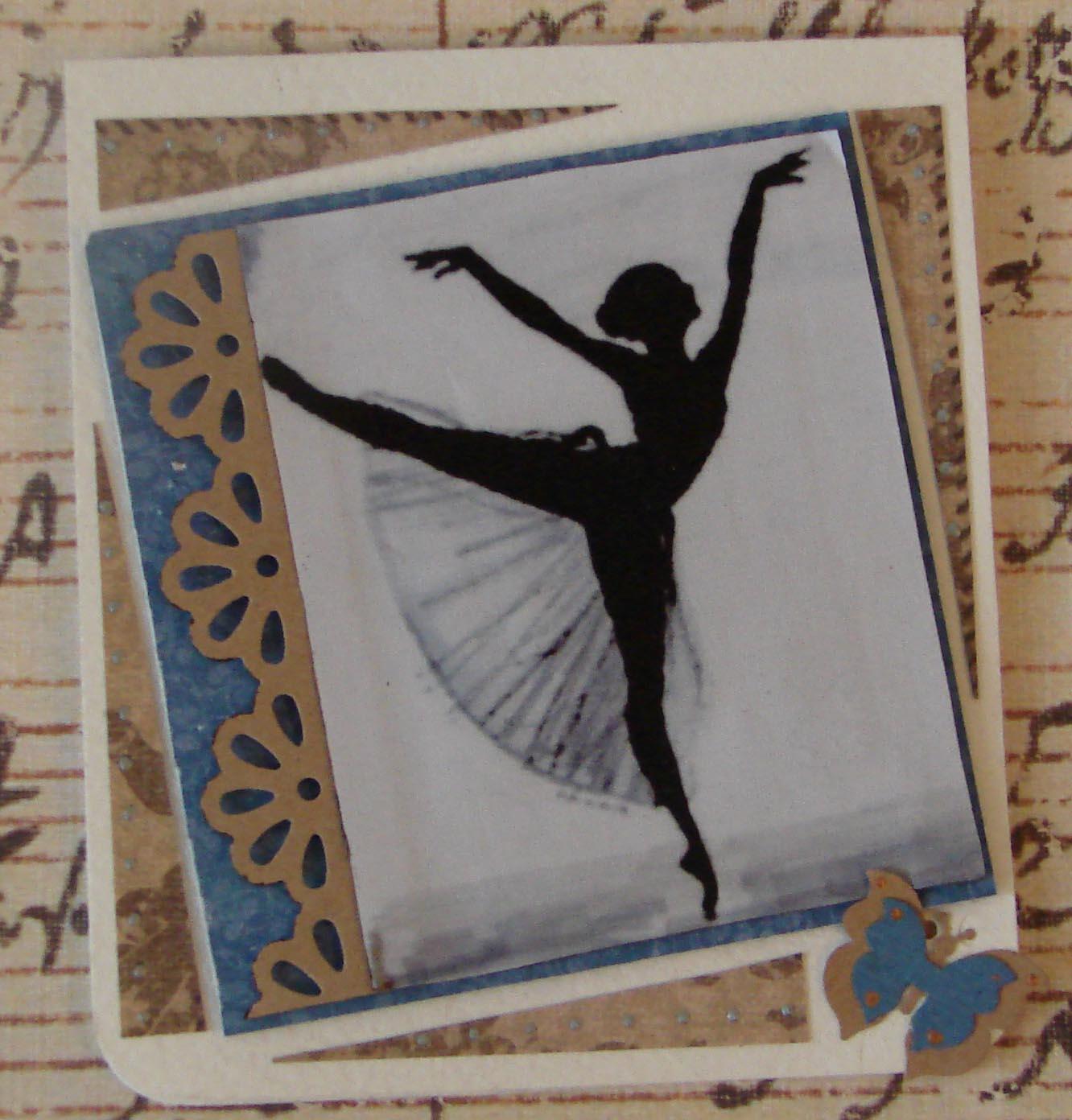 Картинки с балериной для открыток 982