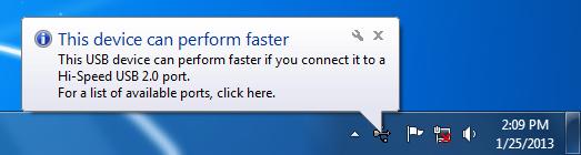 USB 2.0 Windows 7