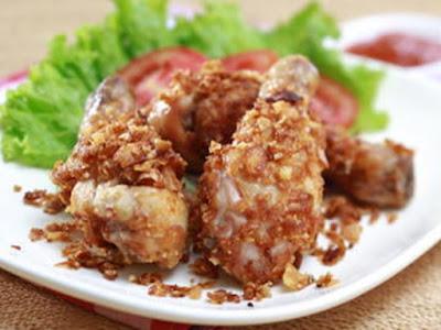 Resep Ayam Goreng Jagung