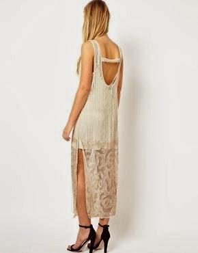 Flapper-style Cheap Wedding Dress from ASOS