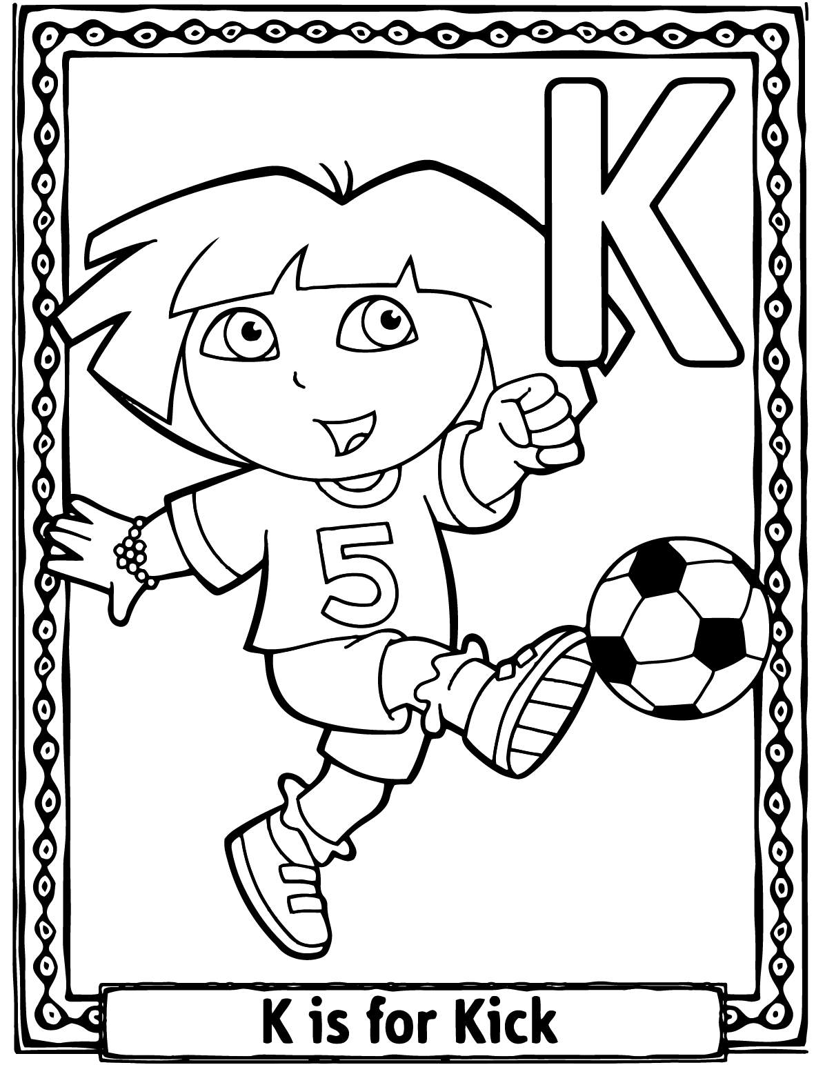Letter k coloring pages for preschoolers - Letter K Coloring Pages For Preschoolers Top 10 Letter K Coloring Pages Your Toddler Will