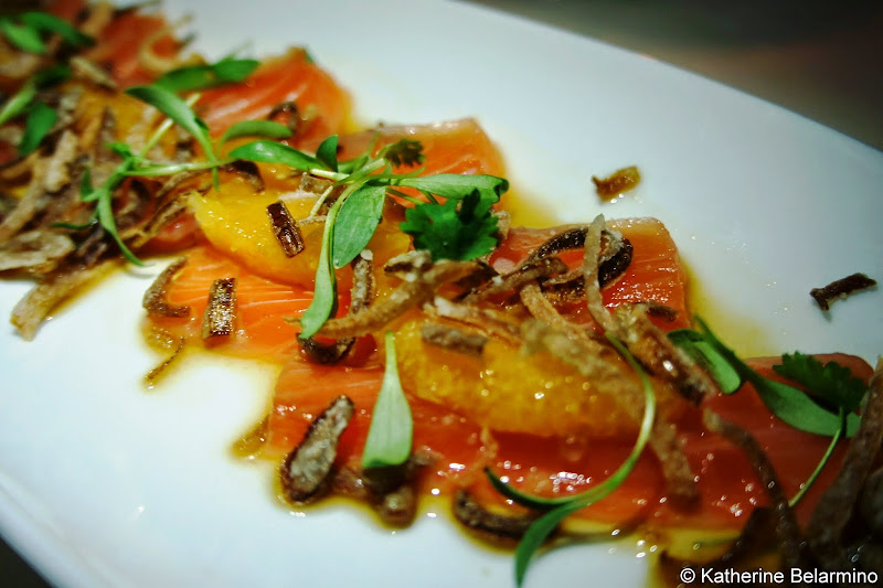 Mistral Salmon Carpaccio Loews Coronado Bay