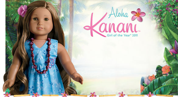 American girl doll girl of the year 2011 kanani