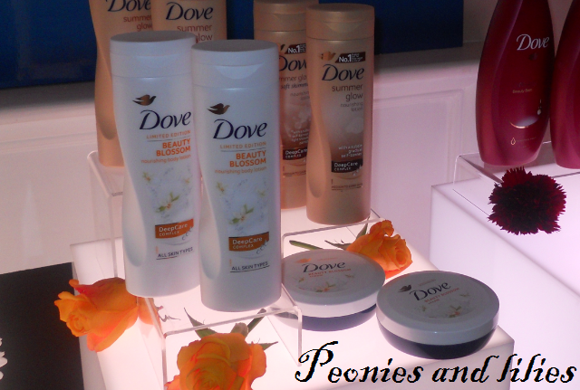 Dove beauty blossom body lotion, Dove beauty blossom body cream, Dove spring 13