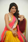 Shraddha das photos in Saree at Rey audio launch-thumbnail-8