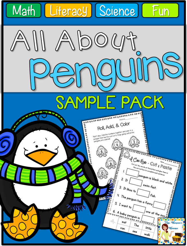http://www.teacherspayteachers.com/Product/All-About-Penguins-Print-Go-Pack-FREE-SAMPLE-1607560