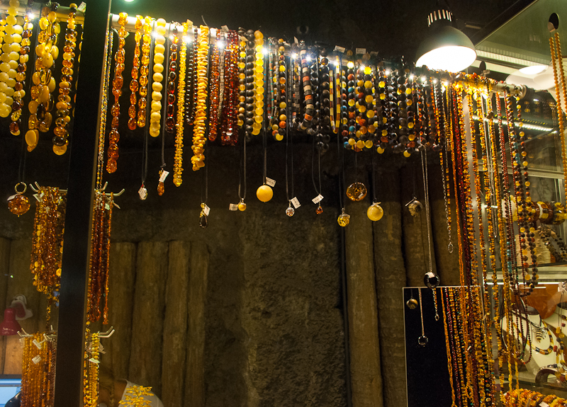 Wieliczka Salt Mine in Poland Souvenirs and Jewellery