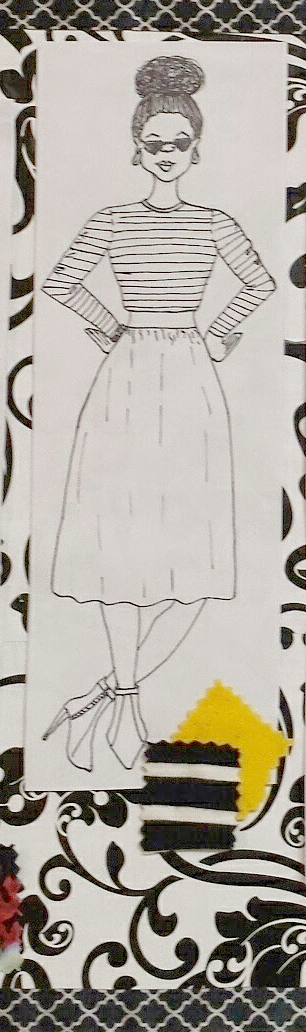 Rhianna's Studio DIY sketch diy fashion