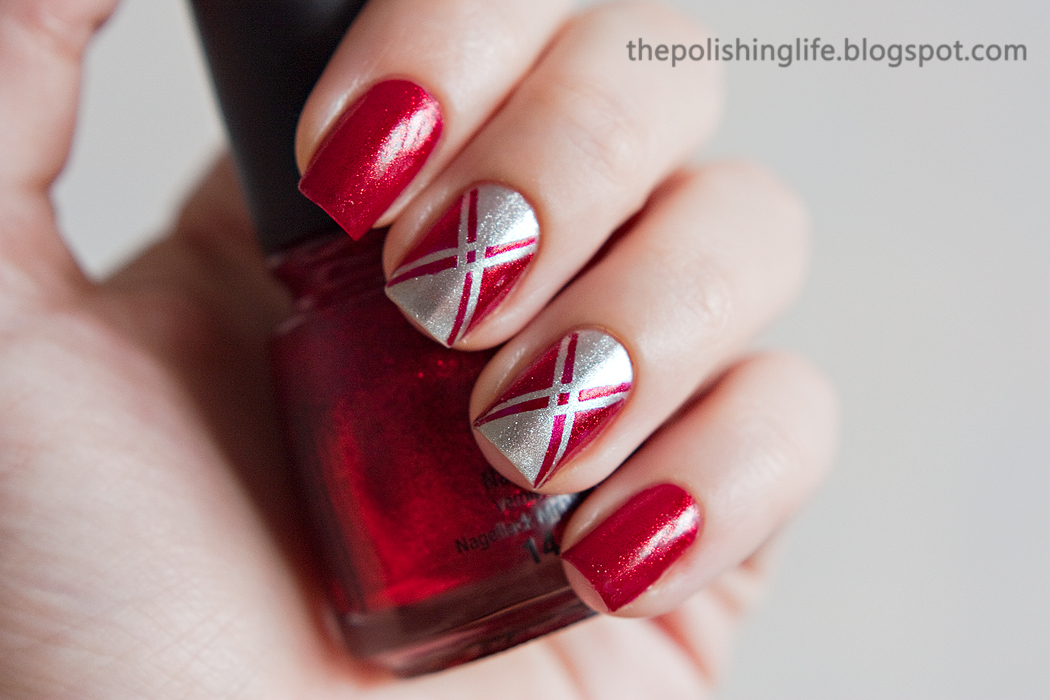 The 31 Day Challenge - Day 1 - Red Nails