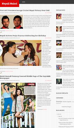Nepali Mahol Page