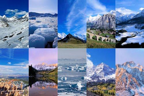 Volcanes, montañas y nevados VII (10 fotos inéditas)