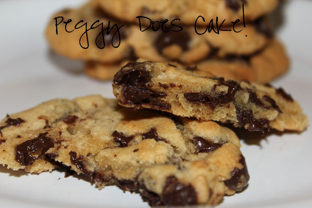 easy chocolate chip cookies are DELECTABLE. Just because they're easy ...
