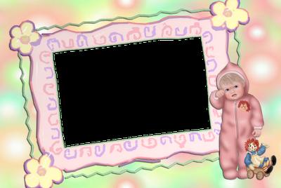 marco para fotos de bebe