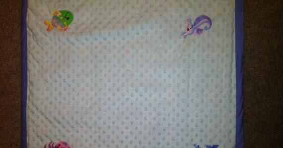 I Heart Decorating!: Ocean Cuties Baby Blanket