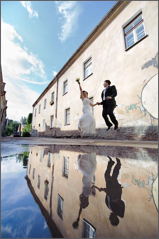 crazy vestuvinės foto