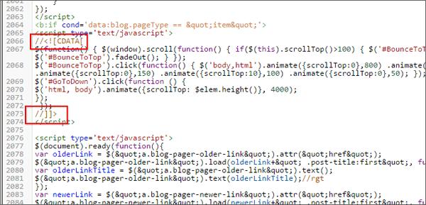 Perbaikan Kode Script Berwarna Merah