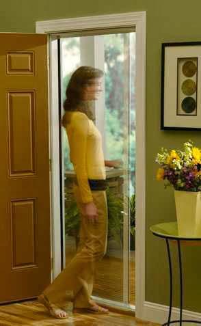 Hidden Sliding Screen Door Ayanahouse