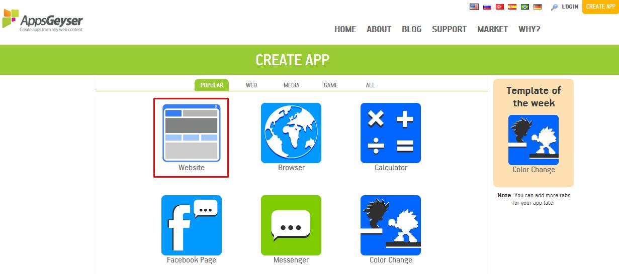 membuat aplikasi Android untuk situs Blog/ Website