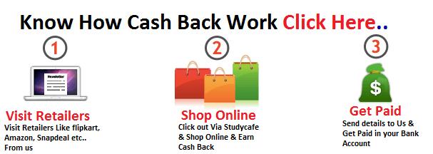 How cash back works