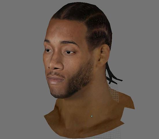 NBA 2K14 Kawhi Leonard HD Face Mod