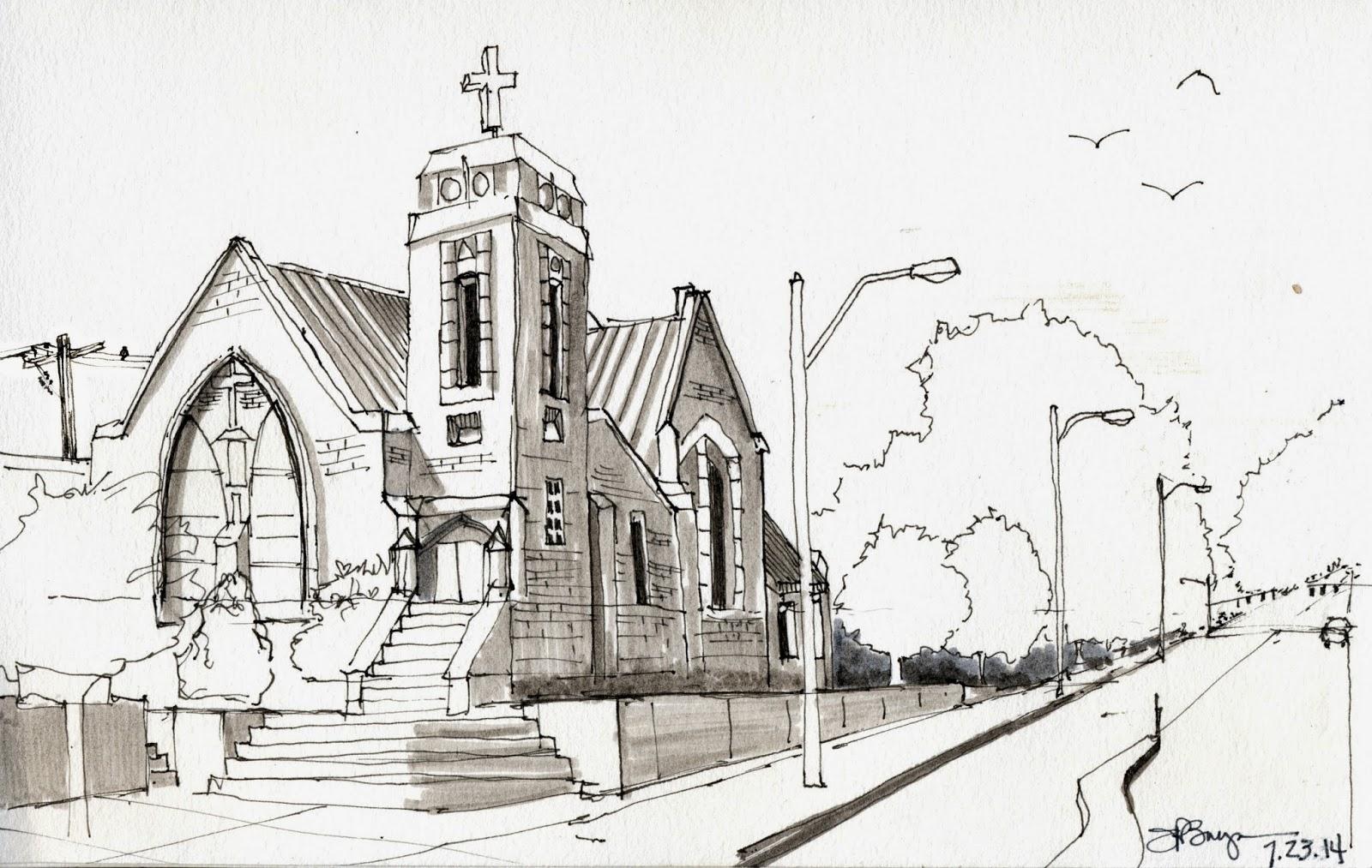 Sketches methodist church kennewick wa