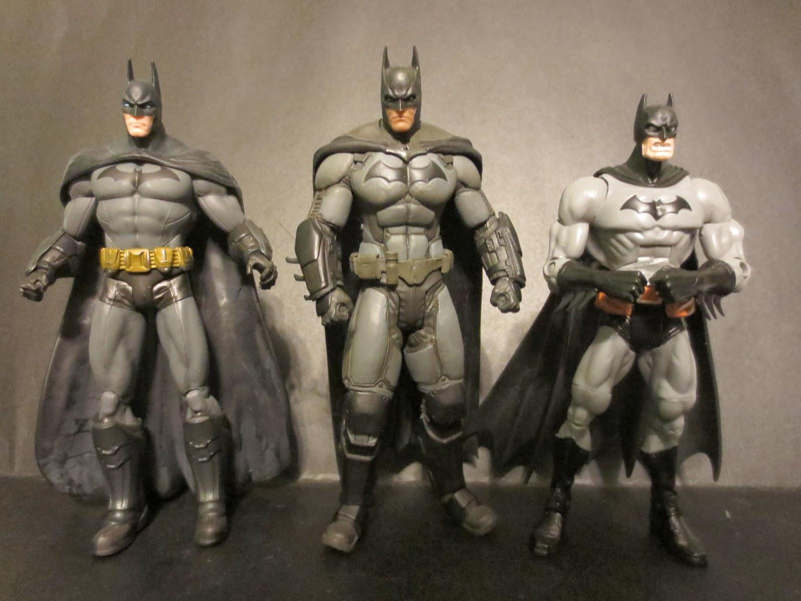 Coolest Batman Toys : The epic review action figure batman from arkham