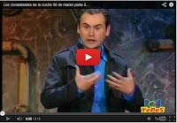 Chistes de Ricardo  Quevedo en los comediantes de la noche