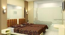 kamar twin hotel pyreness