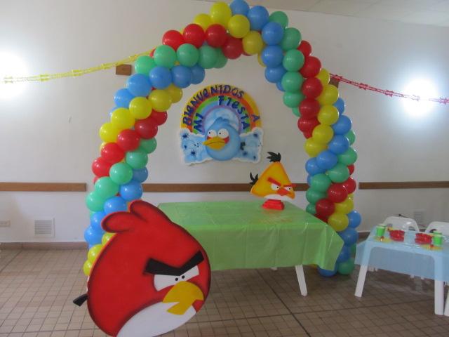 FIESTA TEMATICA ANGRY BIRDS | Fiestas tematicas infantiles ...