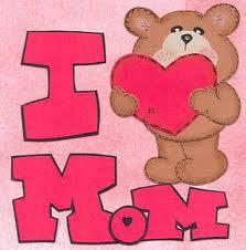 i love my mom :)