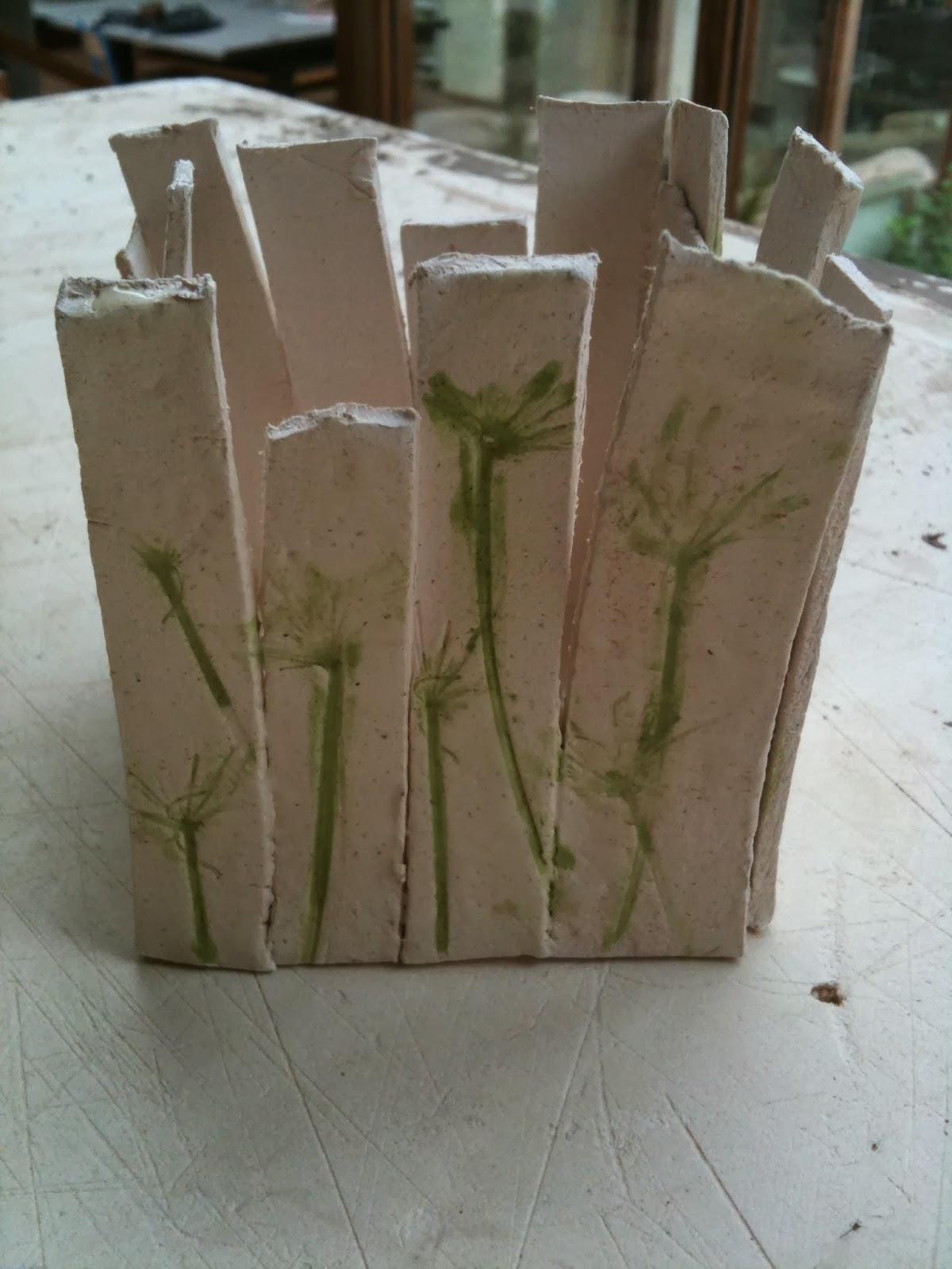 Les Petits Pots De Valérie Terre à Papier Cuisson Et Projet