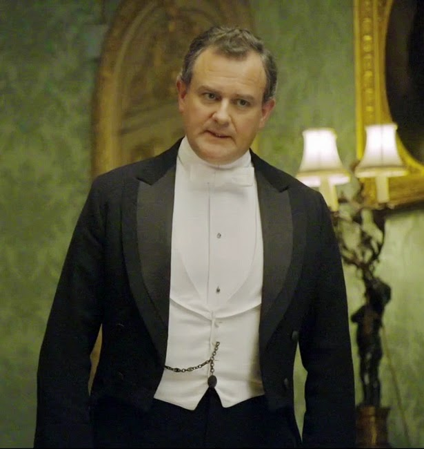 LORD CRAWLEY CON FRAC EN DOWNTON ABBEY
