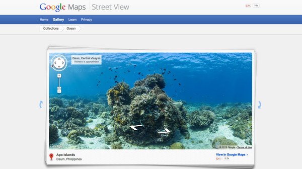 ¿Conoces Street View Oceans?