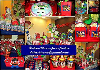 Elegi tu tematica: Toy Story!!!