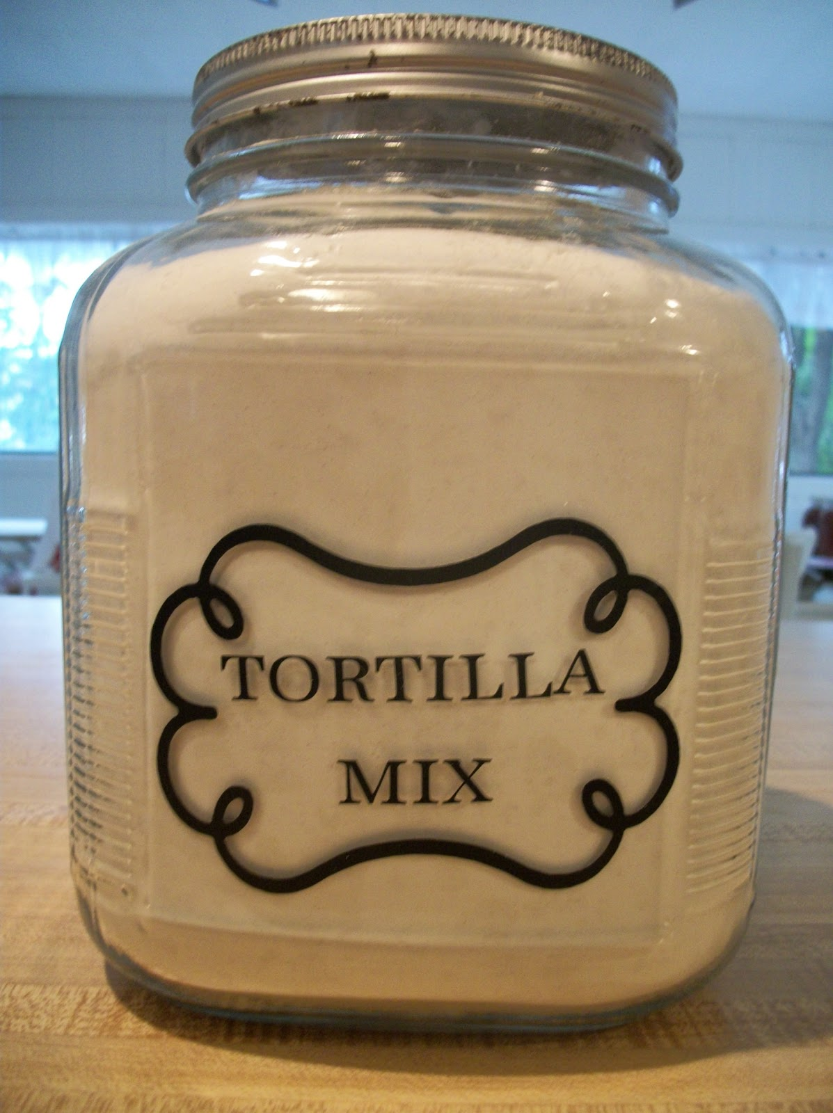 Tortilla Mix & Home Made Is Easy: Master MIX Tortilla