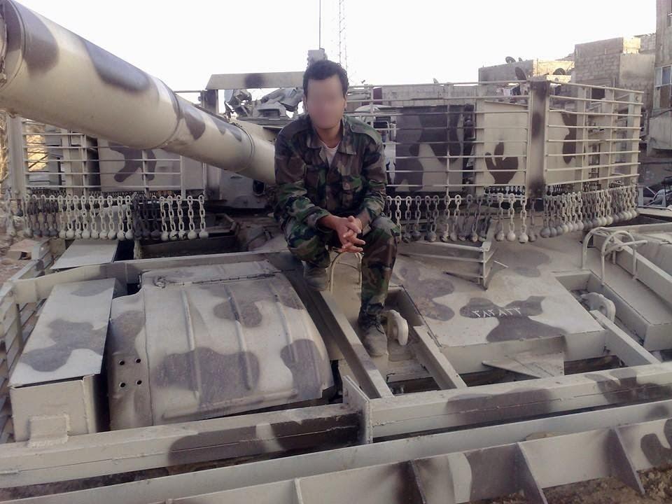 الوحش الفولاذي لدى قوات الجيش السوري .......الدبابه T-72  434